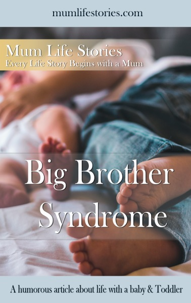 Big brother Syndrome cover for pinterest